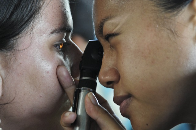 Optometrista voluntaria en Lesbos II